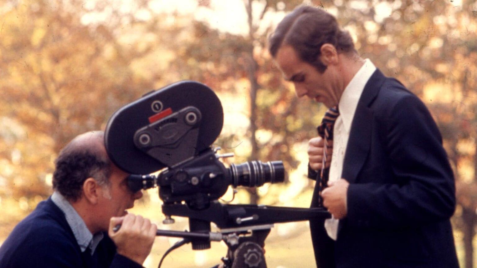 Ginsberg directing Stockwell
