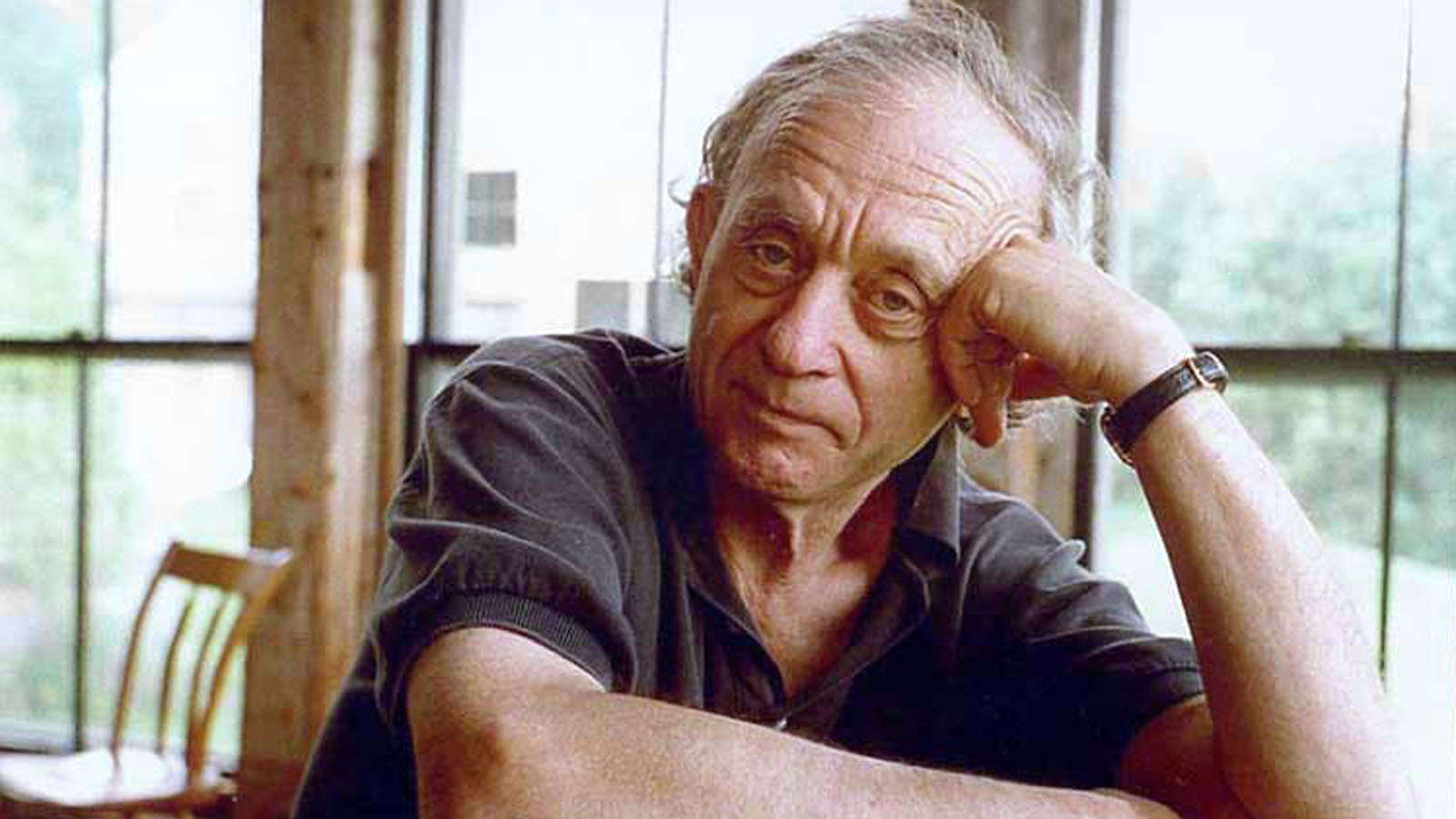 Frederick Wiseman. Photo by John Ewing, courtesy of Zipporah Films