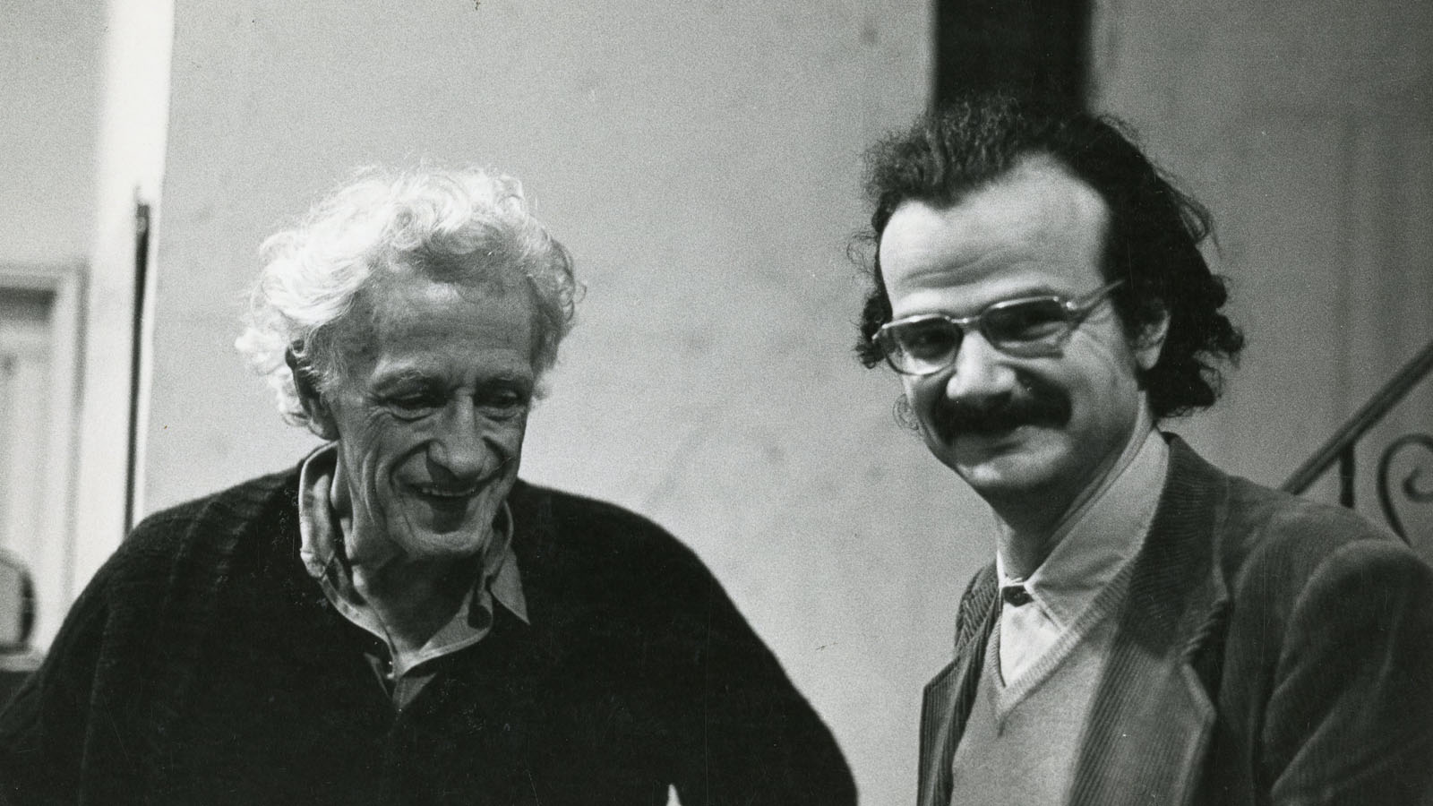 Serge Daney with Nicholas Ray